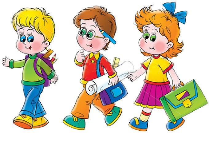 Школьник рисунок детей